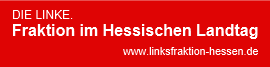 Banner Linksfraktion Hessen