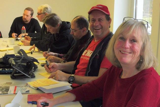 Teilnehmer einer Bildungsveranstaltung